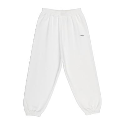 BALENCIAGA KIDS パンツ ホワイト 4 コットン 100% パンツ