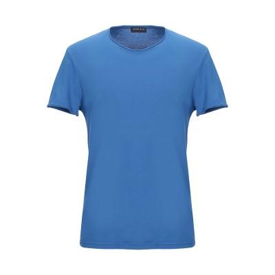 WOOL & CO T シャツ ブルー M コットン 100% T シャツ
