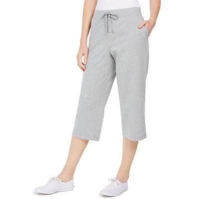 ケレンスコット レディース カジュアルパンツ ボトムス Petite Knit Drawstring Capri Pants