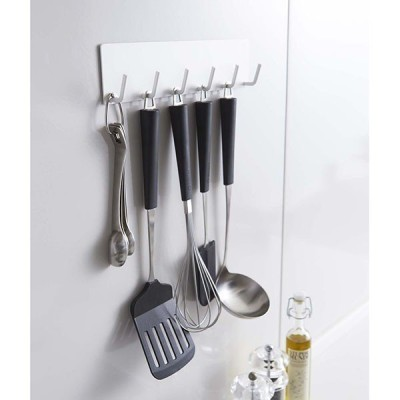 マグネットキッチンツールフック  プレート 02437 / Plate ホワイト キッチン フック ツールフック 調理器具 おしゃれ
