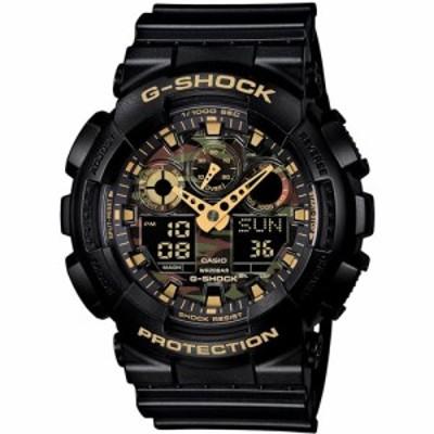 カシオ メンズ腕時計 G-SHOCK カモフラージュダイアル GA-100CF-1A9JF  【正規品】