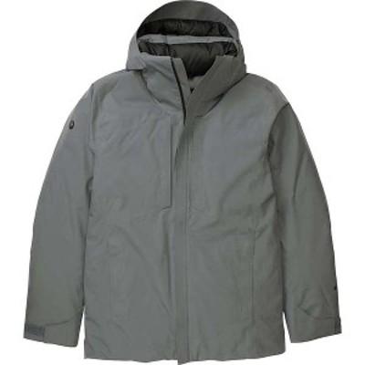 マーモット メンズ ジャケット・ブルゾン アウター Marmot Men's Tribeca Jacket Steel Onyx