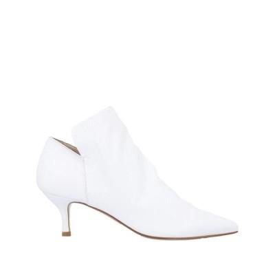 ELENA IACHI ショートブーツ  レディースファッション  レディースシューズ  ブーツ  その他ブーツ ホワイト