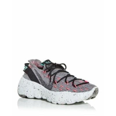 ナイキ レディース スニーカー シューズ Women's Space Hippie Knit Low Top Sneakers Smoke Grey/Black