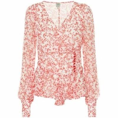 バウム ウンド ヘルガーデン Baum und Pferdgarten レディース ブラウス・シャツ トップス Matinez floral blouse Cream Ditsy Floral
