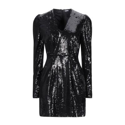 パロッシュ P.A.R.O.S.H. ミニワンピース&ドレス ブラック L ポリエステル 85% / ナイロン 15% ミニワンピース&ドレス