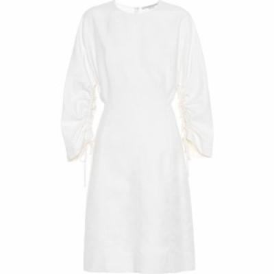 ステラ マッカートニー Stella McCartney レディース ワンピース ワンピース・ドレス cotton and linen-blend dress Cream
