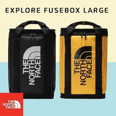 THE NORTH FACE NM2DL72 EXPLORE FUSEBOXL 大容量バックパックデイリーバッグ男女共用ノートPCかばん