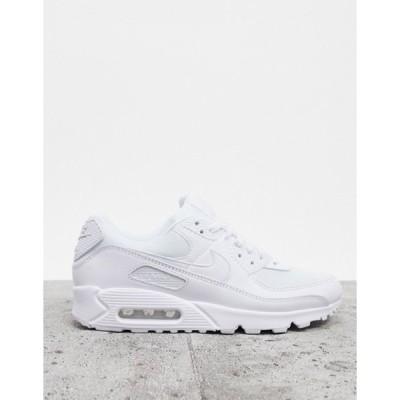 ナイキ メンズ スニーカー シューズ Nike Air Max 90 sneakers in white