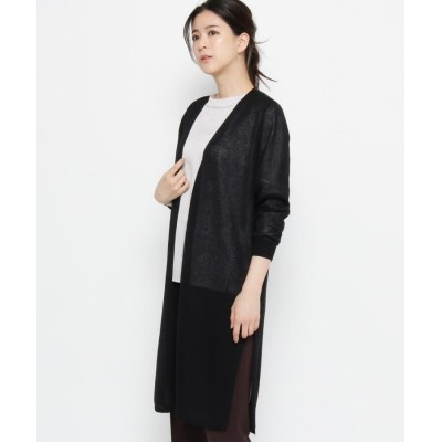 Sofuol(ソフール) 【手洗いOK】シアー ロングカーディガン