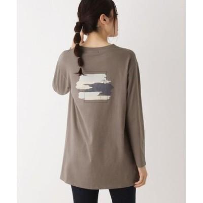 【WEB限定LLサイズあり】バックプリント ロングTシャツ