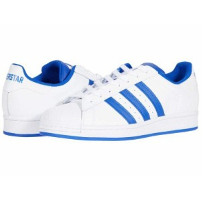 アディダス メンズ スニーカー シューズ Superstar Footwear White/Bold Blue/Clear Granite