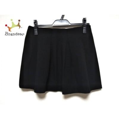セオリー theory ミニスカート サイズ0 XS レディース 美品 黒   スペシャル特価 20200816