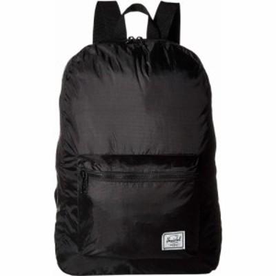 ハーシェル サプライ Herschel Supply Co. レディース バックパック・リュック デイパック バッグ Packable Daypack Black