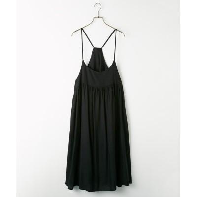 後ろリボンキャミソールワンピース (ワンピース)Dress