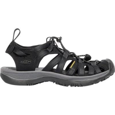 キーン Keen レディース サンダル・ミュール シューズ・靴 KEEN Whisper Sandals Black/Magnet