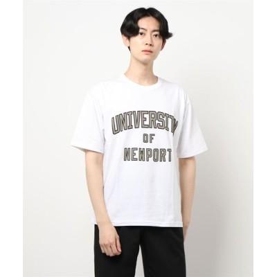CERCA / BEYES/カレッジプリントカットソー MEN トップス > Tシャツ/カットソー