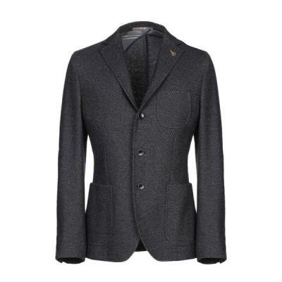 PAOLONI テーラードジャケット ファッション  メンズファッション  ジャケット  テーラード、ブレザー スチールグレー