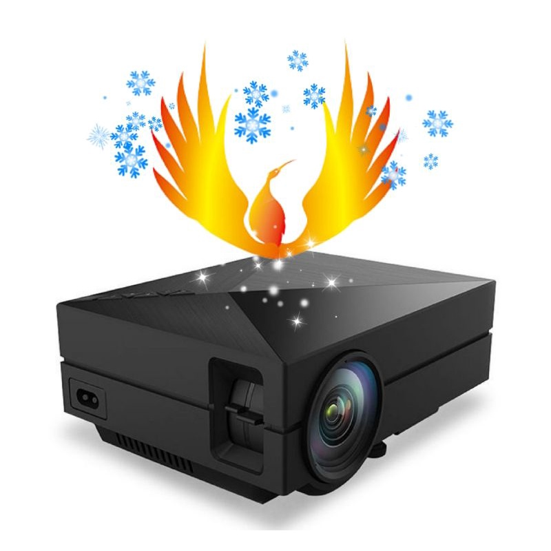 家用投影機 商城認證 HD1080P 送75cm腳架 15天試用不滿意退費 手機投影微型投影 短焦投影 高清投影機 魔米