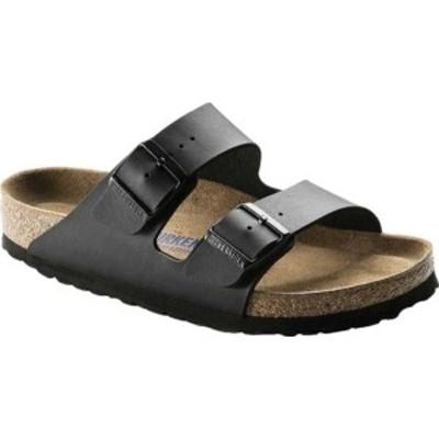 ビルケンシュトック レディース サンダル シューズ Arizona Soft Footbed Birko-Flor Sandal Black Synthetic Leather