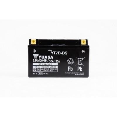 シールド型バッテリー タイワンユアサ 12V 制御弁式 YT7B-BS