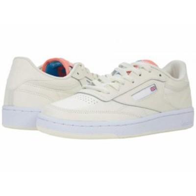Reebok Lifestyle リーボック レディース 女性用 シューズ 靴 スニーカー 運動靴 Club C 85 Classic White/Twisted Coral【送料無料】