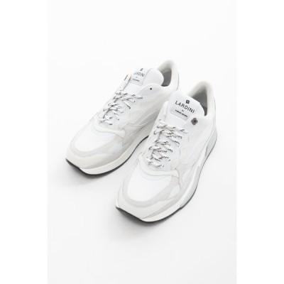ラルディーニ LARDINI スニーカー ローカット シューズ 靴 IMSH01 IMY55770B 100 BY YOSUKE AIZAWA メンズ IMSH01IMY55770B ホワイト 2020年秋冬新作