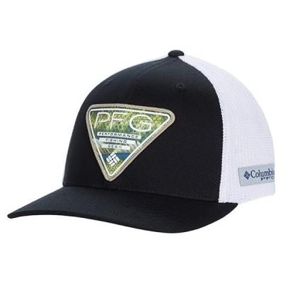 コロンビア PFG Mesh Seasonal Ball Cap メンズ 帽子 Black/White/Triangle Patch