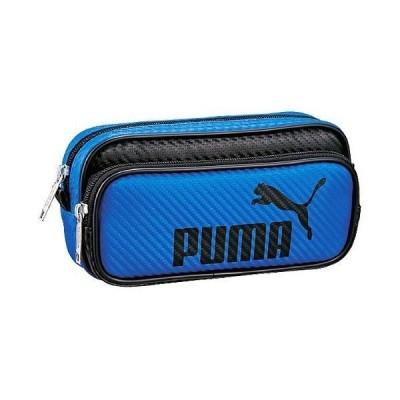 プーマ「PUMA」カラーカーボンWペンケースブルー(787PMBL)