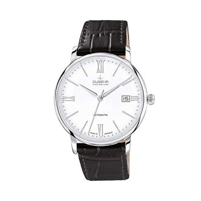 Dugena Gents Watch XL Analogue Automatic Leather 7000194 Premium 並行輸入品