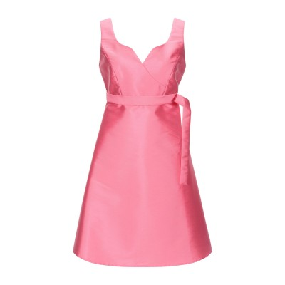 ULTRA'CHIC ミニワンピース&ドレス ピンク 42 ポリエステル 100% ミニワンピース&ドレス