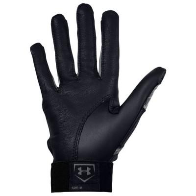 アンダーアーマー Under Armour レディース 野球 バッティンググローブ グローブ radar fastpitch batting gloves Black/Black/Graphite