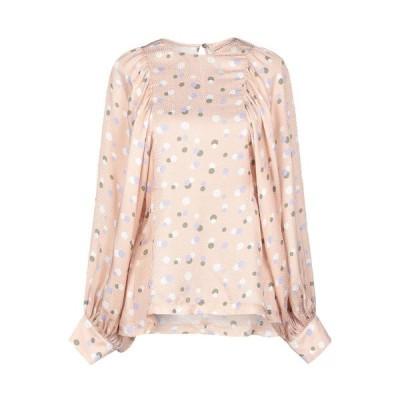 ERIKA CAVALLINI ブラウス  レディースファッション  トップス  シャツ、ブラウス  長袖 ローズピンク
