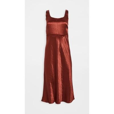 ヴィンス Vince レディース ワンピース スリップドレス ワンピース・ドレス Slim Fitted Slip Dress Sangre