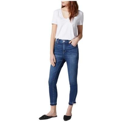 ジャグジーンズ レディース 服 デニム Viola High-Rise Skinny Jeans with Hem Detail