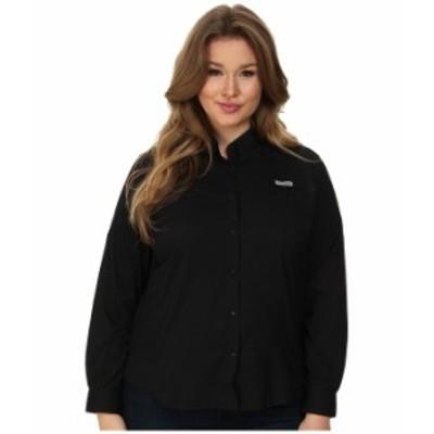 コロンビア レディース シャツ トップス Plus Size Tamiami II L/S Shirt Black