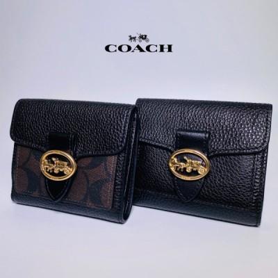 コーチ 財布 二つ折り財布 レディース 6654 7250 COACH 新品