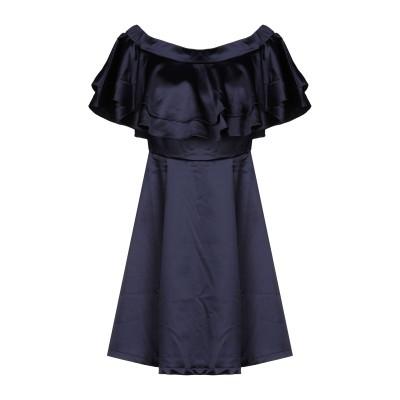 BY MALINA ミニワンピース&ドレス ダークブルー XS ポリエステル 97% / ポリウレタン 3% ミニワンピース&ドレス