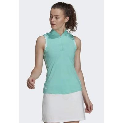 アディダス レディース スポーツ用品 Sports shirt - green