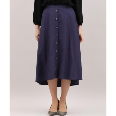 CLEAR IMPRESSION / クリアインプレッション バックロングフロントボタンスカート