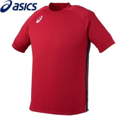 【メール便対応】アシックス サッカー チームプラクティスショートスリーブトップ メンズ XS6100-37