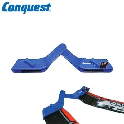 Conquest コンケスト トライスキー 60K くまモンプリント スキー初心者 子供 補助器具 上達する CAS79K