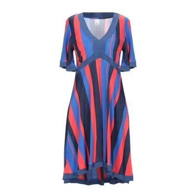 ピンコ PINKO ミニワンピース&ドレス ブルー XS レーヨン 100% ミニワンピース&ドレス