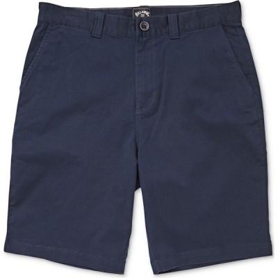 ビラボン Billabong メンズ ショートパンツ ボトムス・パンツ Carter Core-Fit Stretch Twill Shorts Navy