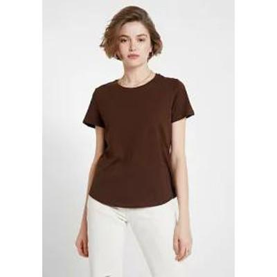 Cotton On レディーストップス Cotton On THE CREW - Basic T-shirt - coffee bean coffee bean