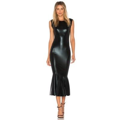 ノーマ カマリ Norma Kamali レディース ワンピース ワンピース・ドレス Sleeveless Midi Dress Black Foil