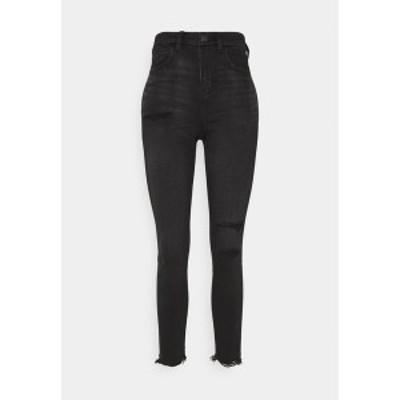 アメリカンイーグル レディース デニムパンツ ボトムス HI RISE - Jeans Skinny Fit - fade to black fade to black