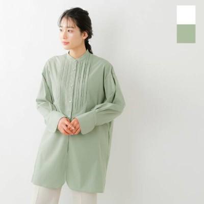 【クーポン対象】【50%OFF】CLANE クラネ 2wayピンタックドレスシャツ 10108-3012 2021ss新作