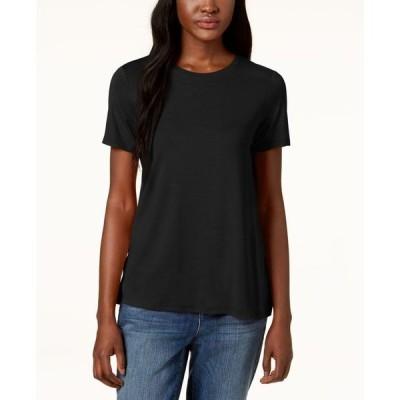 エイリーンフィッシャー レディース シャツ トップス Stretch Jersey Short-Sleeve T-Shirt Regular & Petite