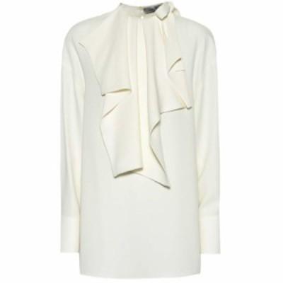 ヴァレンティノ Valentino レディース ブラウス・シャツ トップス Silk crepe blouse